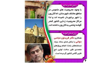 تصویر رفع محرومیت های مختلف شهرستان های کازرون و کوهچنار در اولویت برنامه های دکتر عباسی دوانی